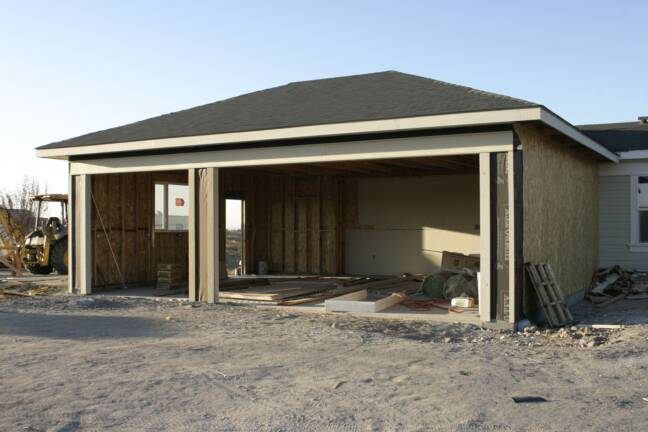 Photo gallery for Adding a garage to a modular home